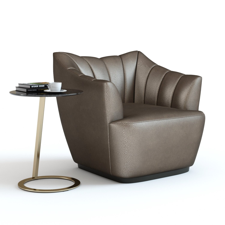 3d model fenton armchair