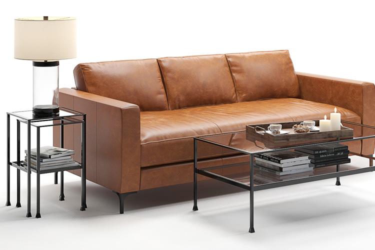 3d model jake sofa