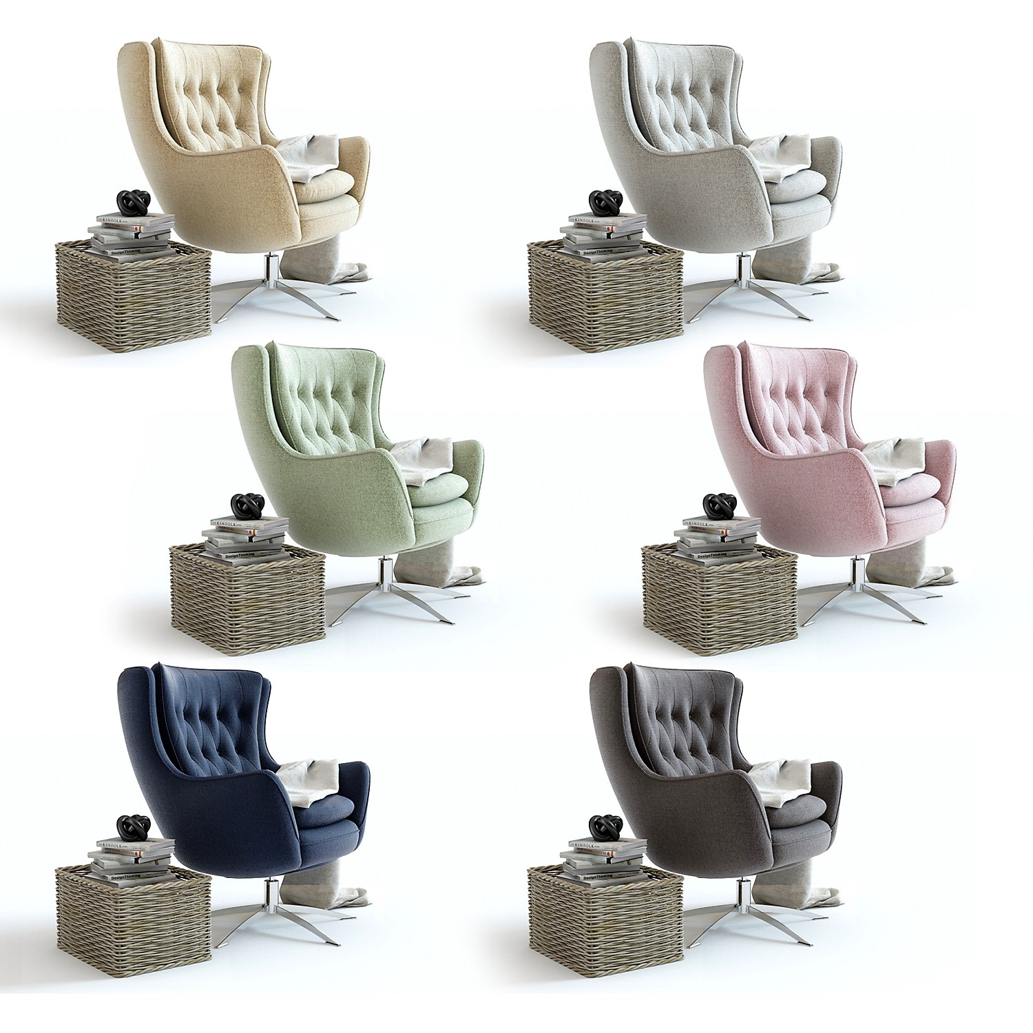 wells chair, online 3d modeling service