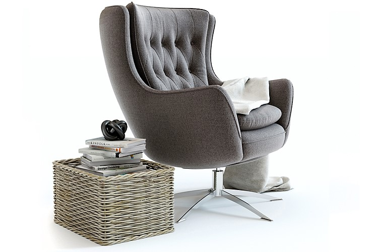 wells chair, online 3d modeling service