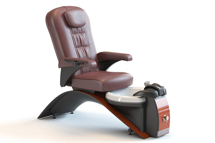 3d model spa chair